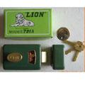 狮子牌防盗门锁门锁791A型号齐全工程直销大众信赖