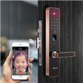 曼亚(MANYA)曼亚APP远程智能指纹锁指纹锁家用防盗门远程智能门锁密码电子